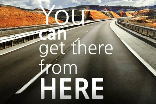 You Can Get There From Here AUDIO ~ Bishop Harold C. Ray