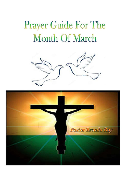 PRAYER GUIDE: MONTH OF MARCH 2016