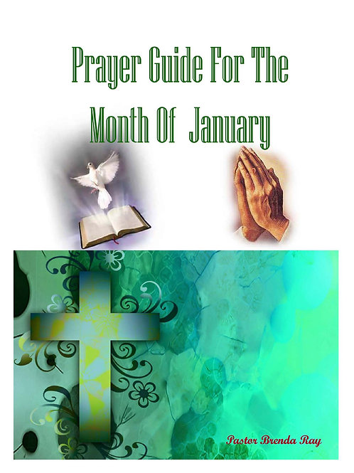 PRAYER GUIDE: MONTH OF JANUARY 2016