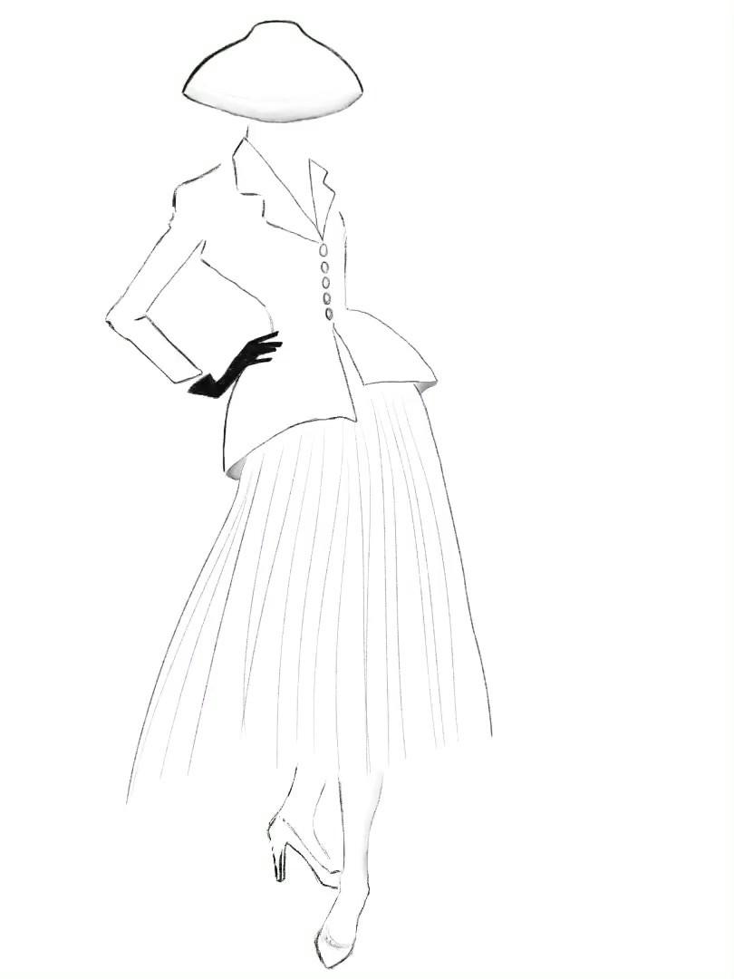 Dior Suit 1940