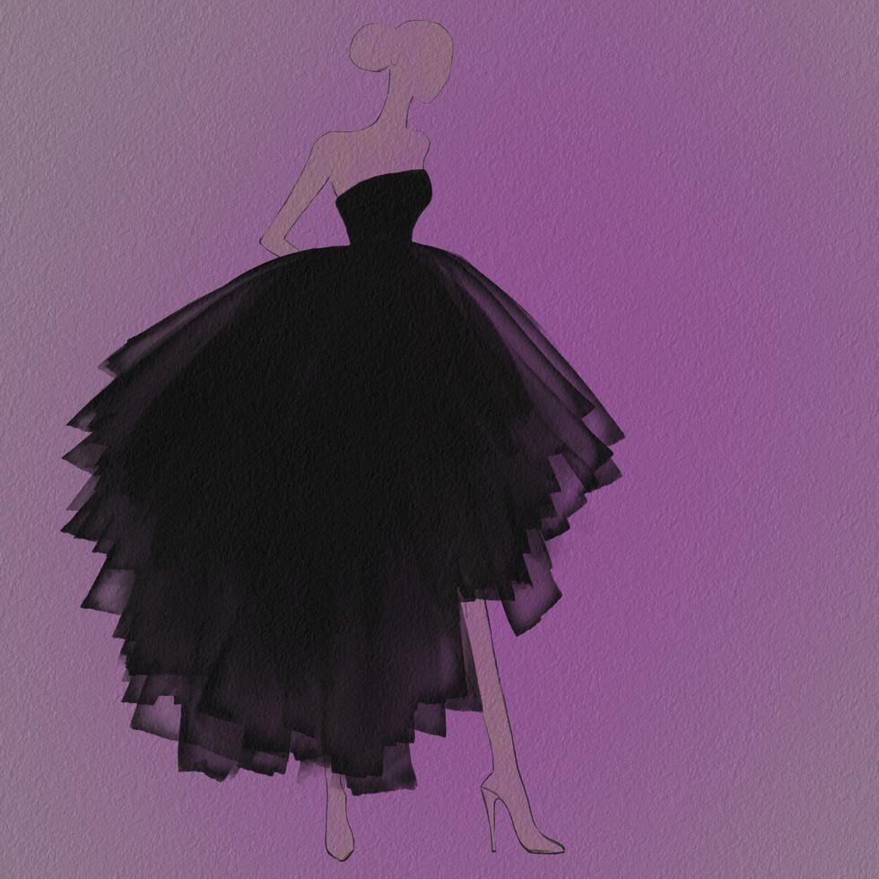 Dior Tulle Watercolor