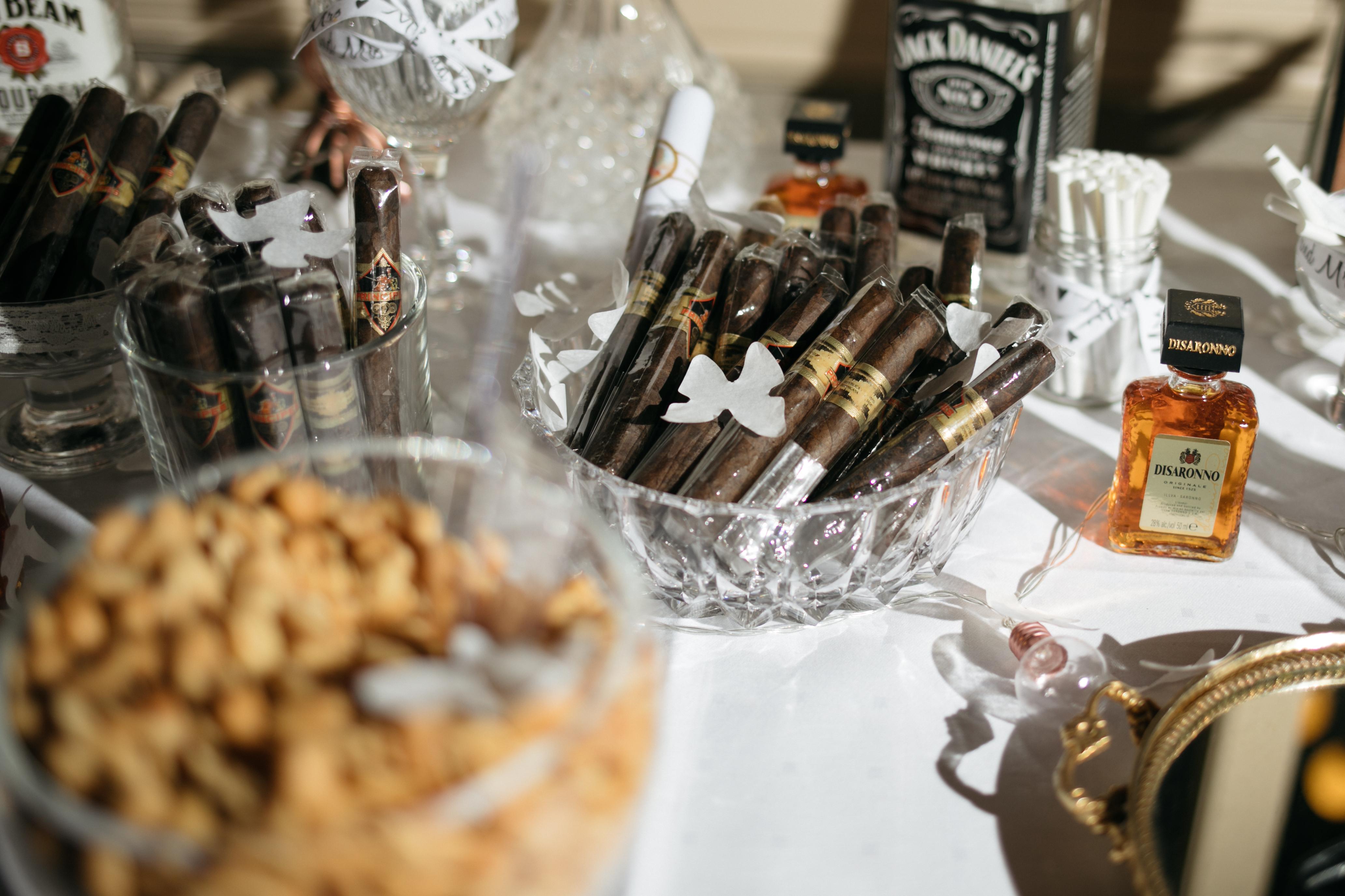 Zigarrenbardetail