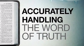 Real Deal- Accurately Handle the Word of