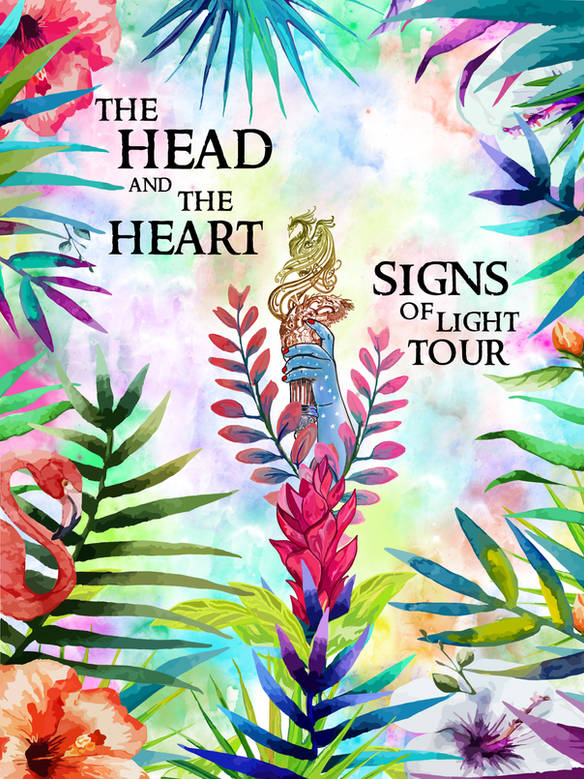 Head and the Heart Alternatif Poster