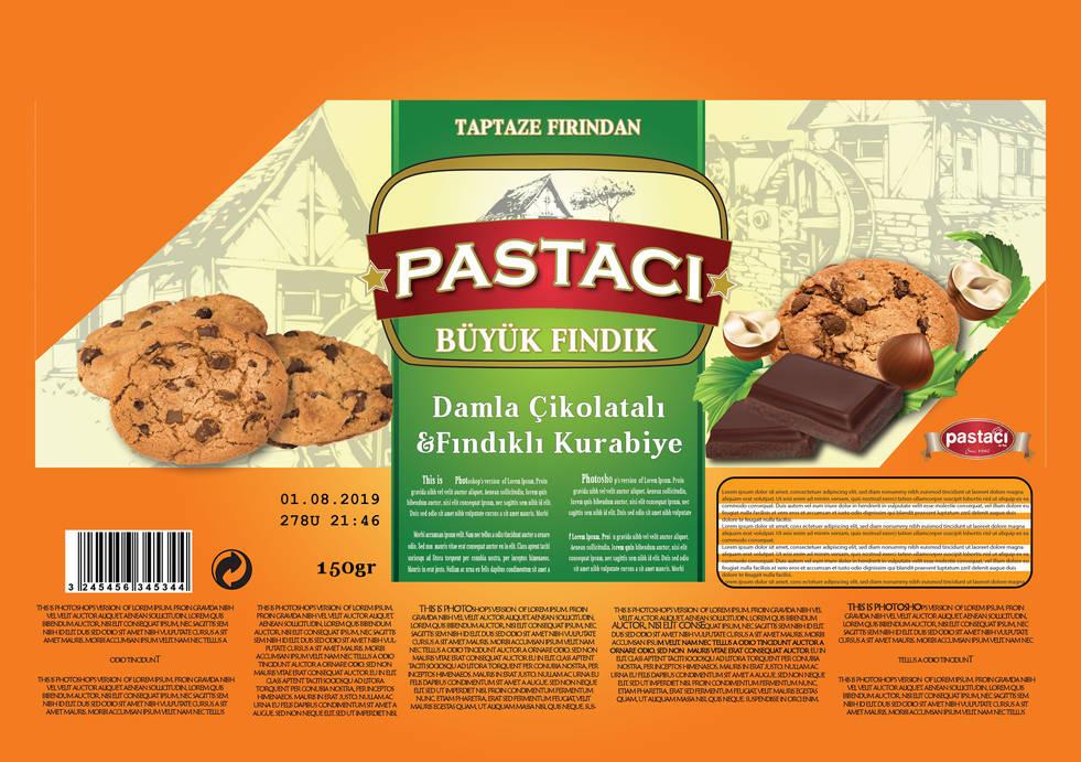 ar&be kurabiye ambalaj tasarımı