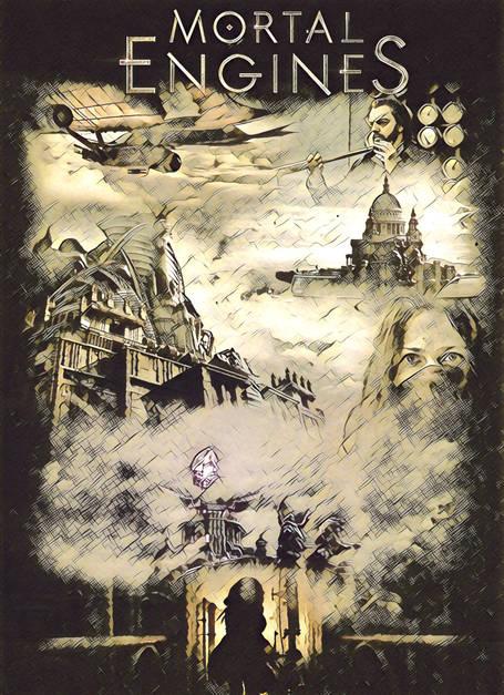 Mortal Engines Alternatif Poster