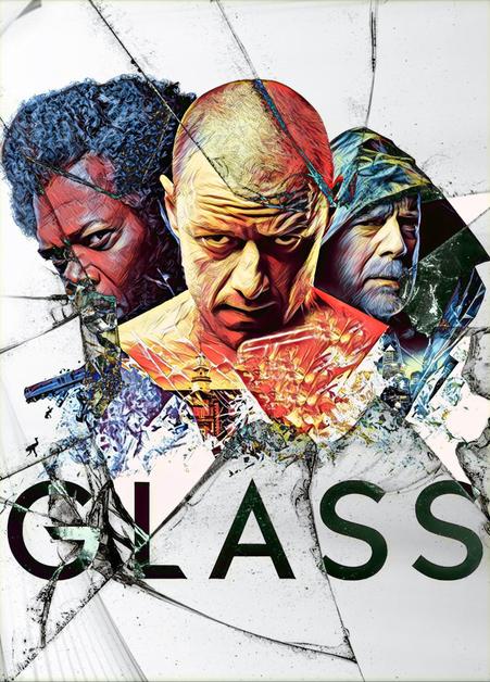 Glass Movie 2019 Poster