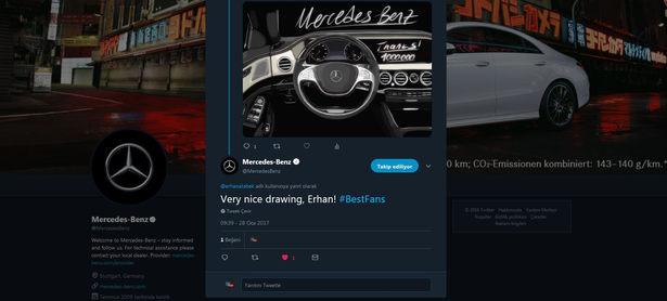 Mercedes Benz Sosyal Medya