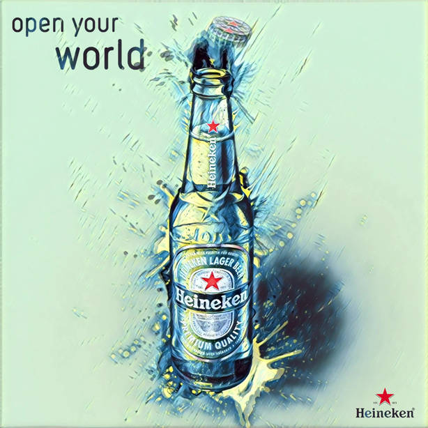 Heineken Open Your World Aktif