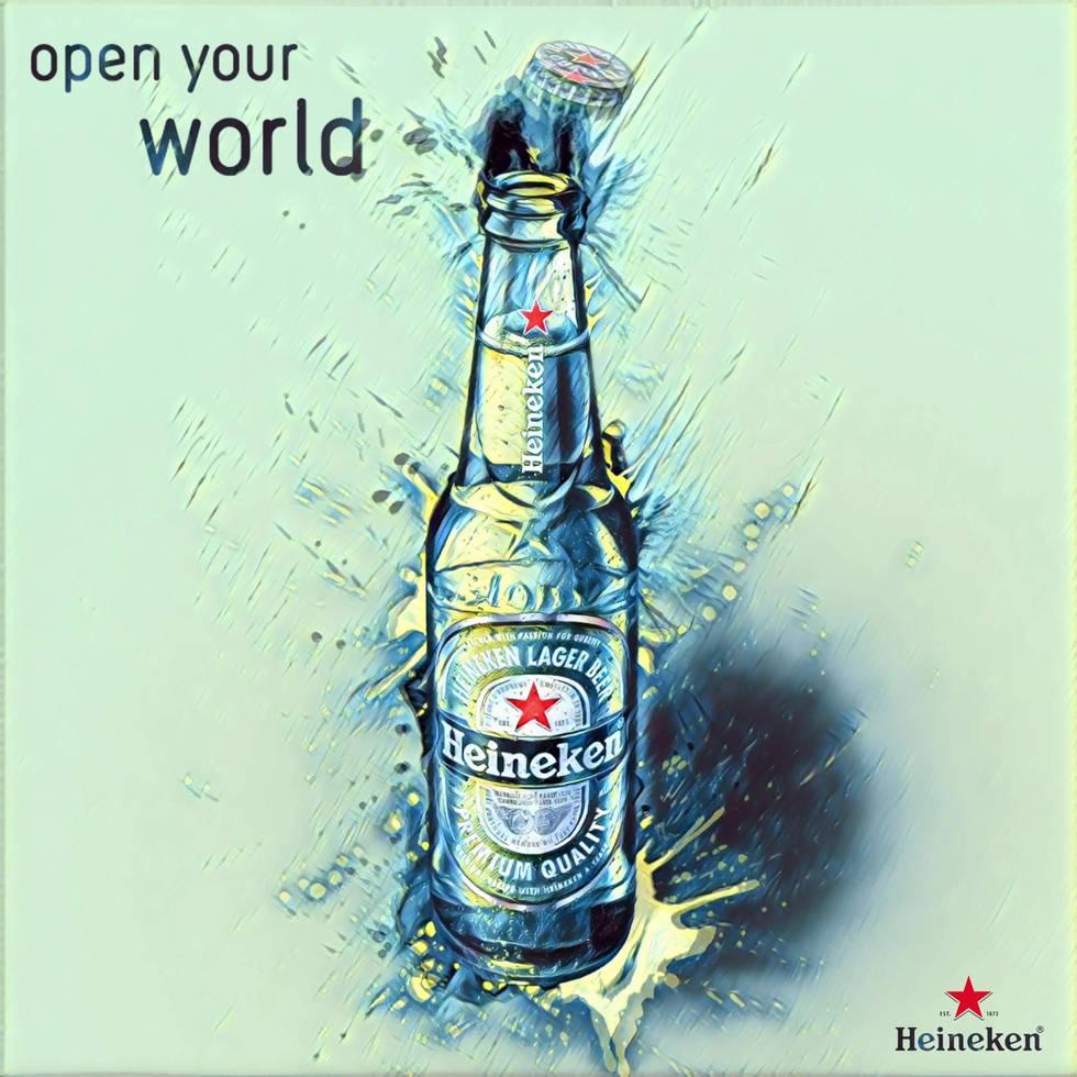 Heineken Open Your World Aktif