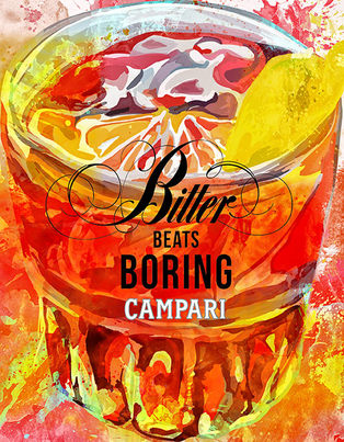Campari Negroni Tanıtım Görseli