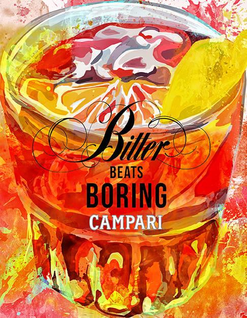 Negroni Campari Tanıtım Çalışması