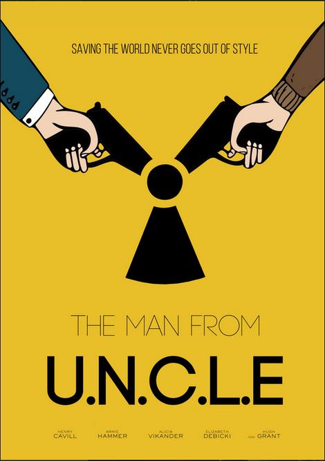 The Man From U.N.C.L.E Alternatif Poster