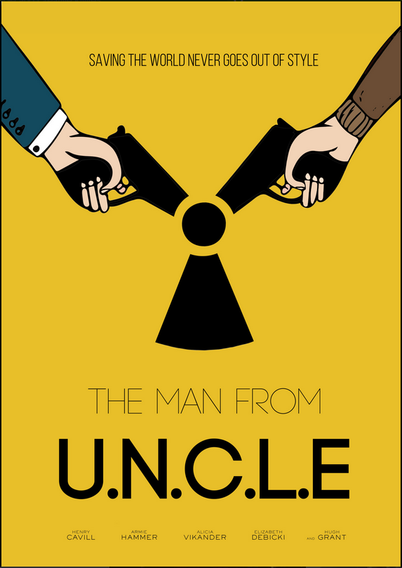 The Man From U.N.C.L.E Alternatif Poster