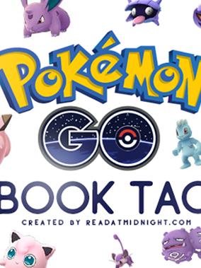 Pokemon Go! Book Tag
