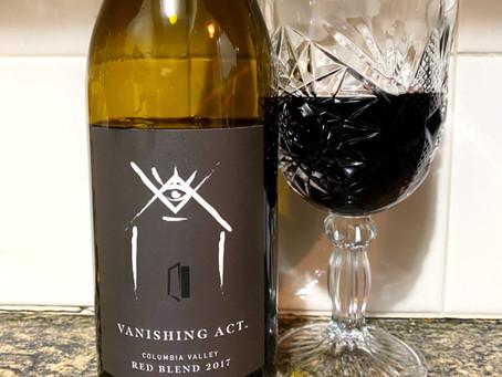 Bottoms up!   The Vanishing Act