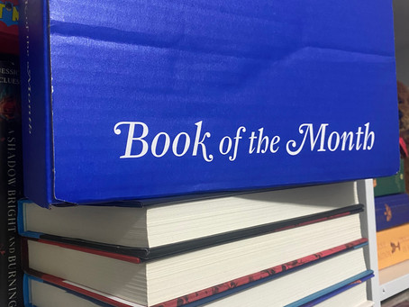September & October Book of the Month Haul!