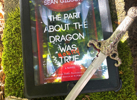 The Part About the Dragon Was (Mostly) True | Recent Reads | Author Q&A