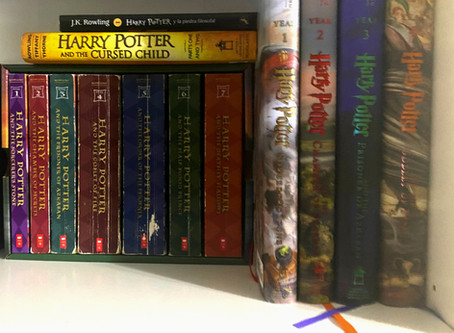 HARRY POTTER AND THE TAG OF BOOKS