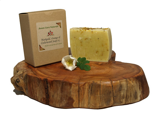 Marigold, Orange & Cedarwood Soap Bar