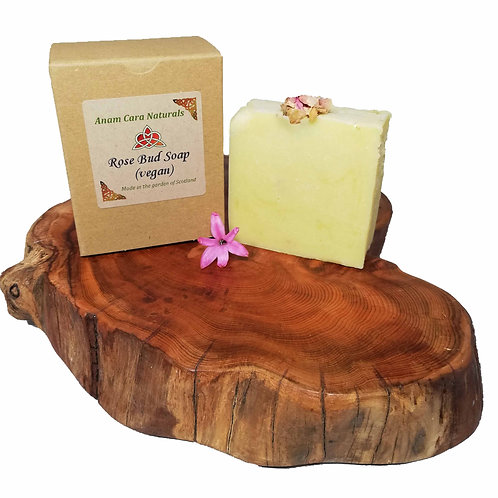 Rosebud Soap Bar (7.5 x 6.5 cm)