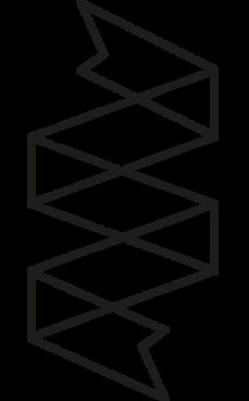 Ribbon Outline