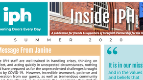 Inside IPH: A Publication for Friends & Supporters of Interfaith Partnership for the Homeless