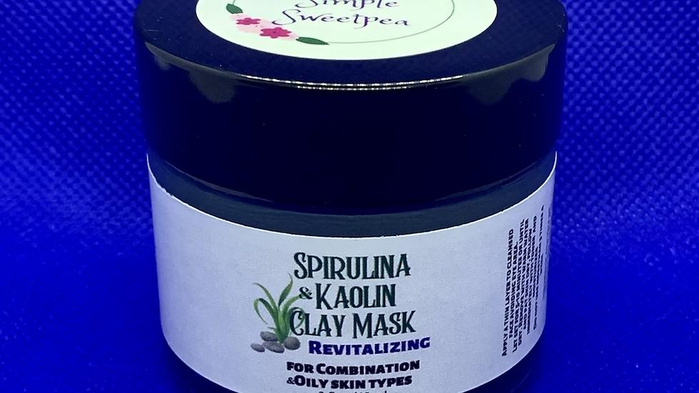 Spirulina & Kaolin Clay Mask