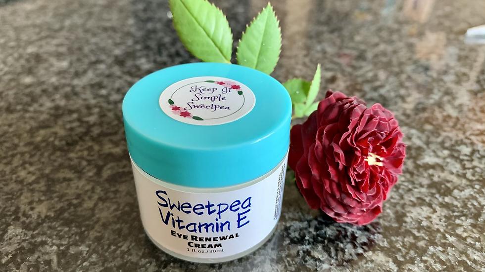 Sweetpea Vitamin E Eye Renewal Cream