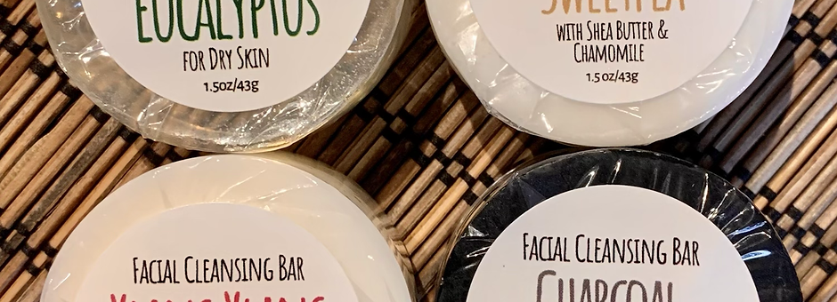 Sweetpea Facial Cleansing Bars