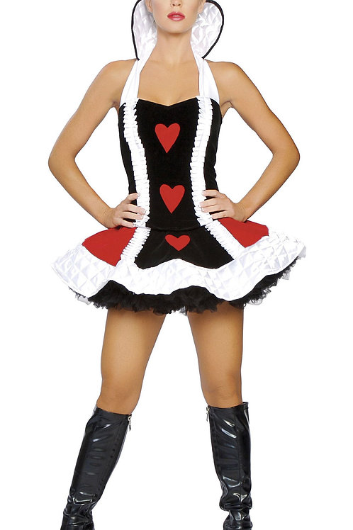 ROMA SEXY QUEEN OF HEARTS COSTUME