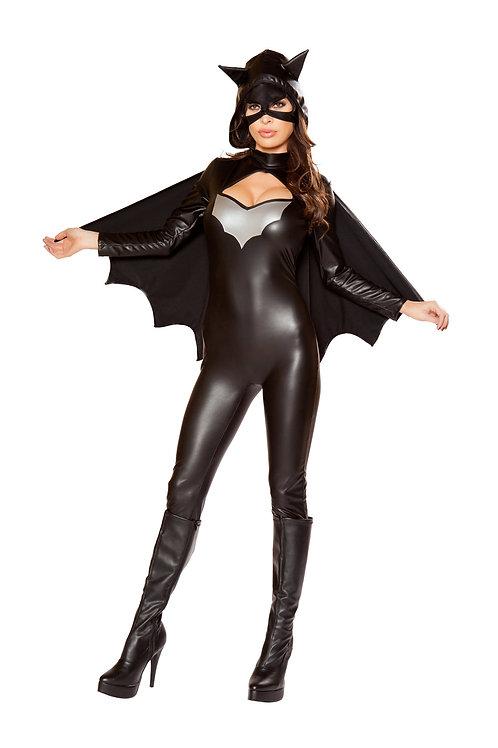 ROMA SEXY BATGIRL WOMAN ROMPER COSTUME