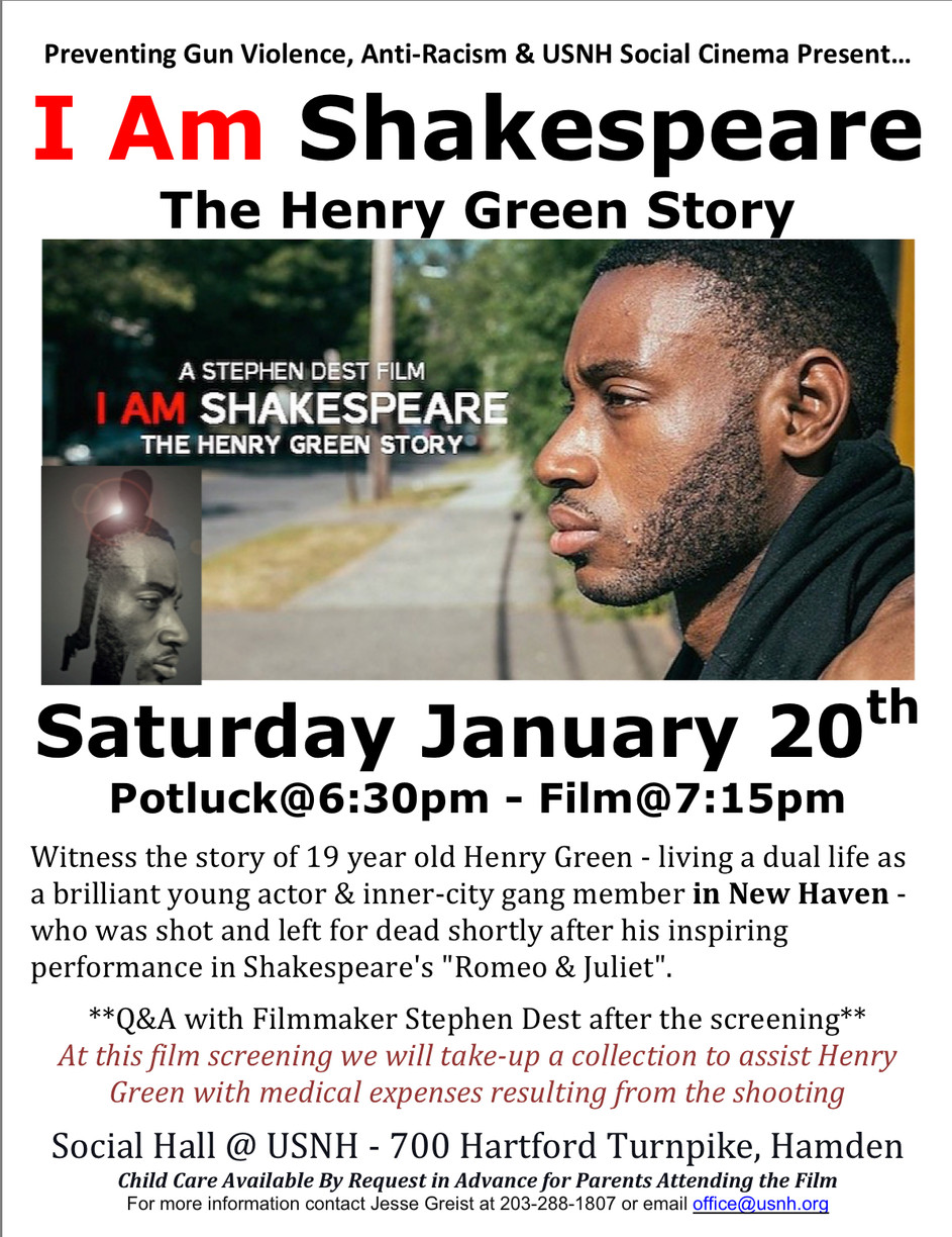 """Upcoming Screening of """"I AM SHAKESPEARE: The Henry Green Story"""""""