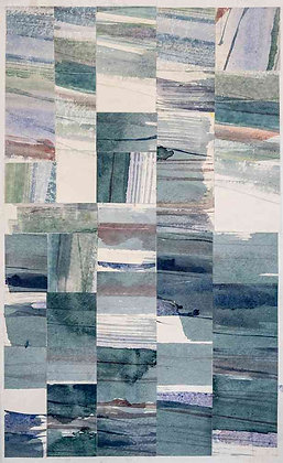 Gray Green Collage