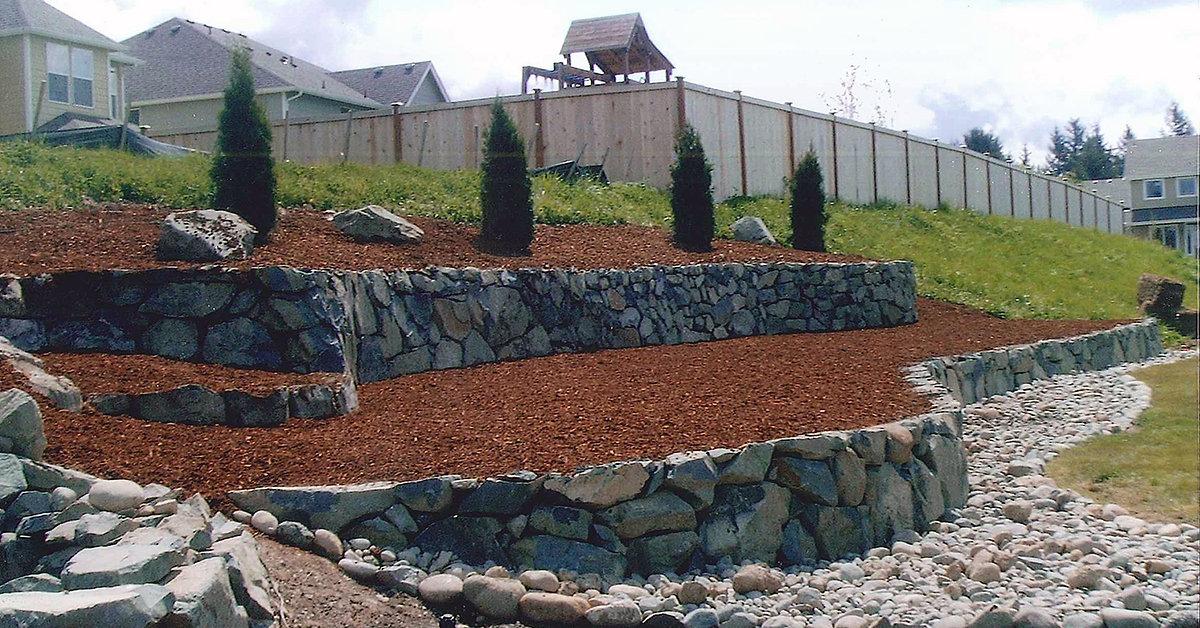 General Contractor Tacoma Wa Artistic Rockwall Amp Landscape
