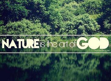 bush is art of God