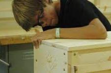 Students create 'burial cradles'