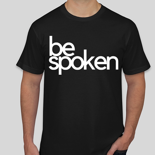 bespoken Men's T-shirt (available in black and white)