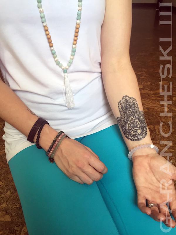 Henna Style Hamsa Tattoo For Jessie