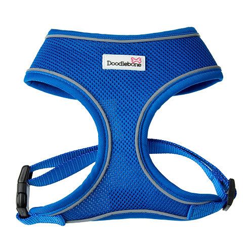 Doodlebone Blue Airmesh Harness - Medium
