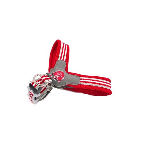 Hugo & Hudson Red Stripe Easy Fit Harness - Size 8