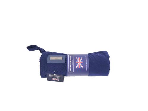Hugo & Hudson Blue Plush Blanket - Small