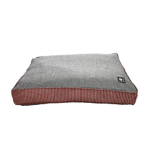 Danish Design Red Cream Stripe Maritime Bed - Large