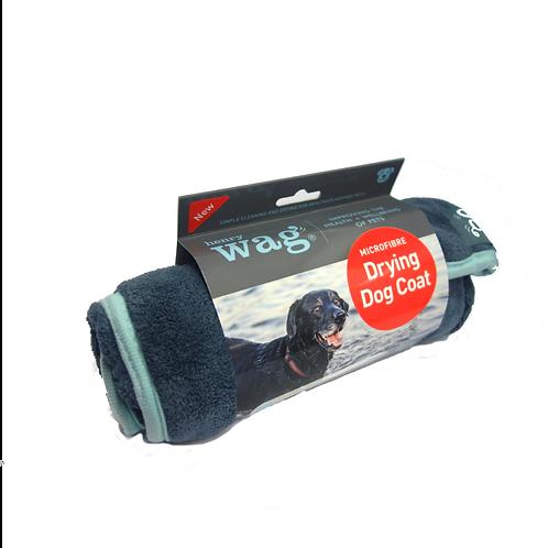 Henry Wag Microfibre Drying Coat - Medium
