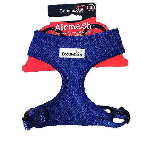 Doodlebone Blue Airmesh Harness - Small