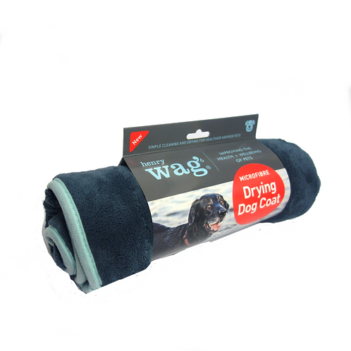 Henry Wag Microfibre Drying Coat - Small