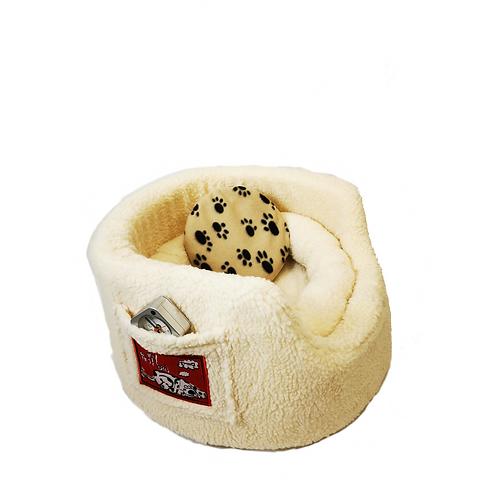 My First Puppy Bed Bundle - Cream