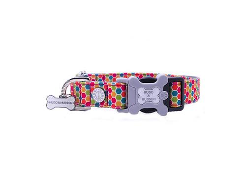 Hugo & Hudson Multicolour Hexagonal Collar - Small