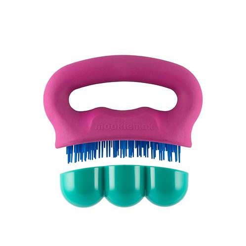 MookieMAX Brush & Massager - Berry / Teal