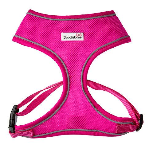 Doodlebone Neon Pink Airmesh Harness - Medium